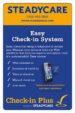 SteadyCare's Check-in Plus Flyer